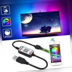 USB RGB LED Streifen TV Hintergrundbeleuchtung mit APP-Steuerung für Android iOS