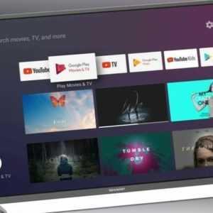 """Sharp 4K Ultra HD Android TV 40"""" 40BL2EA Netflix Smart TV - DEUTSCHER HÄNDLER!"""