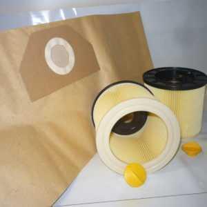 5 - 30 P.Beutel +/-  1- 3 Filter geeignet für Kärcher MV 3, WD 3...Serie  (LF 5)