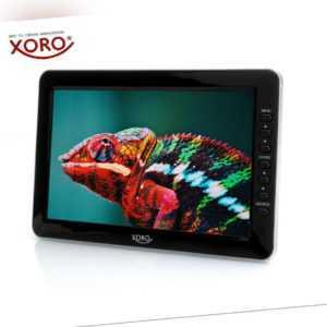 "XORO PTL 1012 Tragbarer 10"" Zoll Fernseher, DVB-T2 Tuner, Mediaplayer, PVR Ready"