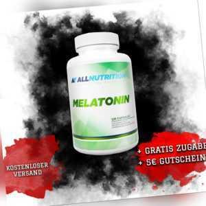 AllNutrition, Melatoni, 120 Kapseln Regeneration und Schlaf, Top B0