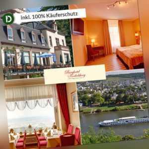 4 Tage Urlaub in Trier an der Mosel im Berghotel Kockelsberg mit Halbpension