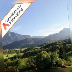 Wellness Kurzurlaub Bad Reichenhall 3 Tage für 2 Personen Berg Hotel Pool Sauna