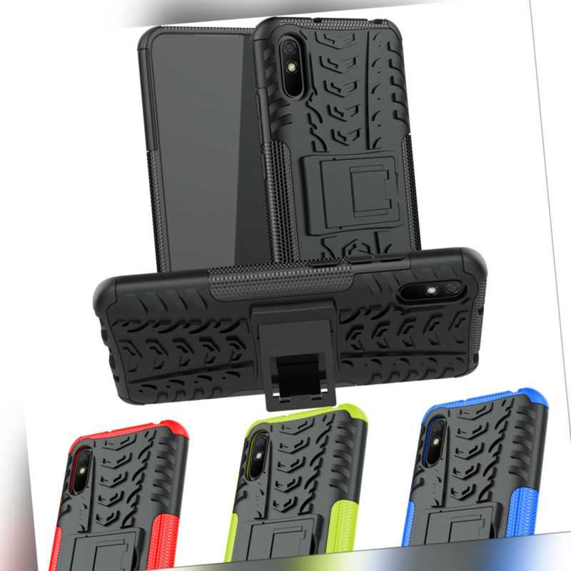 Xiaomi Hüllen Handy Tasche Outdoor Hybrid Case Cover Schutzhülle Silokon Bumper