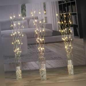 LED Lichterzweige Dekozweige Leuchtzweige beleuchtete Zweige Lichterstrauch