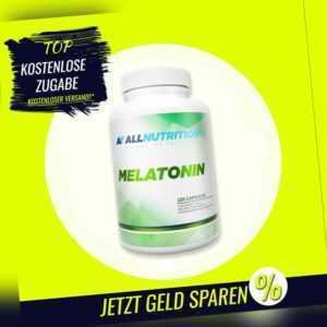 AllNutrition – Melatoni – 120 Kapseln - Kapseln, schlafen, Caps, Melatoni, B2