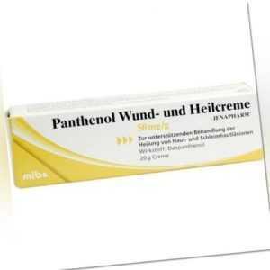 PANTHENOL Wund- und Heilcreme Jenapharm 20g PZN 8814541