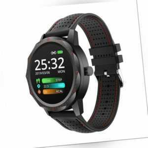 COLMI SKY 1 Rot IP68 Smartwatch Activity Fitness Tracker iOS Android BT Puls