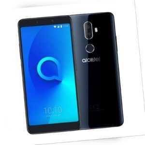 Alcatel 3v 5099Y 16GB Android Smartphone Schwarz Guter Zustand OVP