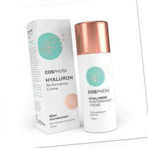 (57,90 EUR/100 mL) Cosphera Hyaluron Performance Creme 50 ml vegane Tages Nacht
