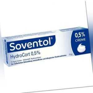 SOVENTOL Hydrocort 0,5% Creme PZN 04465121