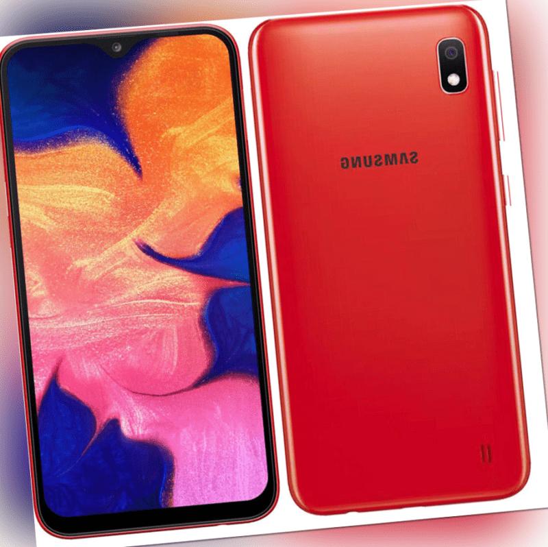 Samsung Galaxy A10 SM-A105FN/DS - 32GB - ROT (Ohne Simlock)...