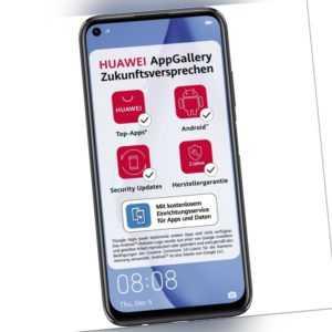 Huawei P40 Lite 6GB RAM 128GB Smartphone Handy Android LTE...