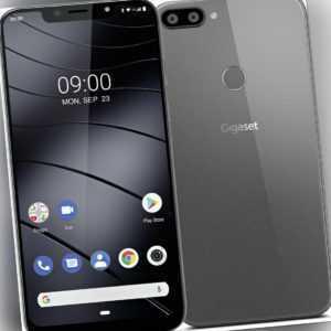 Gigaset GS195 DualSim Titanium Grau 32GB LTE Android Smartphone...