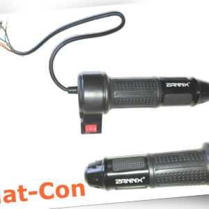 Elektro Hall Gasgriff Handgasregler 0,8-4,2V + Wippschalter + Griffgegenstück
