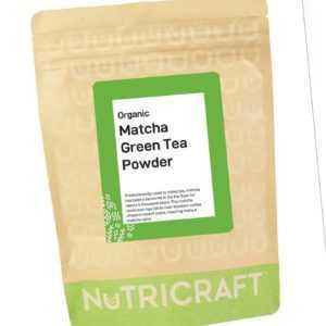 250g Organisch Matcha Grüner Tee Pulver Von Nutricraft™ - Super Fein Pulver