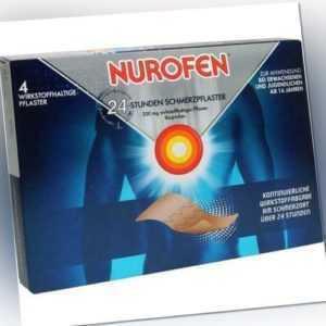 NUROFEN 24-Stunden Schmerzpflaster 200 mg 4 St 06586975