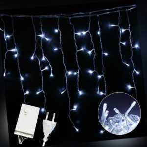 200-600 LED LED Eisregen Lichterkette Lichtervorhang Eiszapfen Warmweiß Kaltweiß