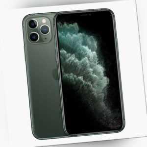 Apple iPhone 11 Pro Max - 256GB - Nachtgrün (Ohne Simlock) NEU OVP...