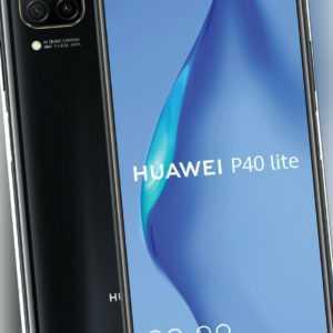 Huawei P40 lite 128GB Dual-SIM schwarz Smartphone ohne Vertrag -...