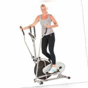 Crosstrainer Ellipsentrainer Stepper Heimtrainer Fitnessgerät 5 kg Schwungmasse