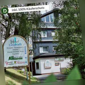 Wittgenstein 4 Tage Bad Laasphe Kurzurlaub Hotel Lahnblick Reise-Gutschein