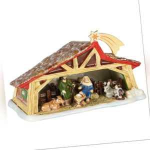 VILLEROY & BOCH Christmas Toy's Memory Krippe Weihnachtsdeko XMAS Porzellan 27cm