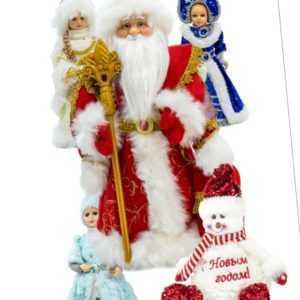 Weihnachtsmann Väterchen Frost Snegurochka Schneemädchen Снегурочка Дед Мороз