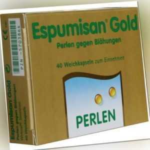 ESPUMISAN Gold Perlen gegen Blähungen 40 St PZN 5703864