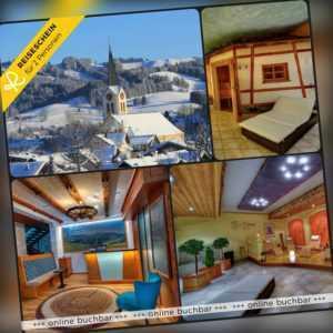 Kurzurlaub Allgäu 3 Tage 2 Personen H+ Hotel Hotelgutschein Wellness Kurzreise