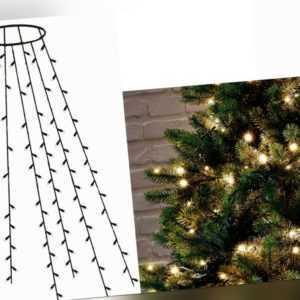 246170 LED Lichterkette für Weihnachtsbaum Beleuchtung 180 LEDs Warmweiß