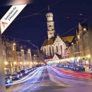 3 - 4 Tage Augsburg Dorint Wellness Hotel Gutschein für 2 Personen Kurzreise
