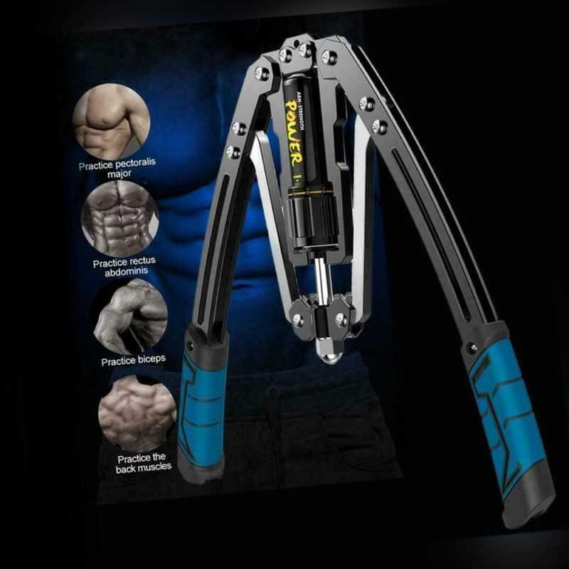 Armtrainer Expander Twister Brust Rücken Muskelaufbau Expander Einstellbar DHL