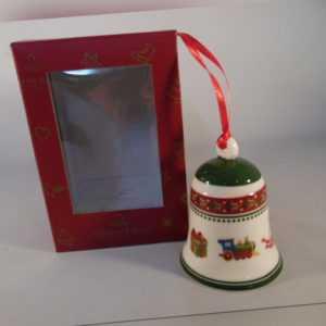 Villeroy & Boch My Chrstmas Tree Glocke Spielzeug Aufhänger Weihnachtsdeko