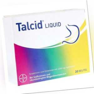 Talcid Liquid Suspension Beutel 20 St
