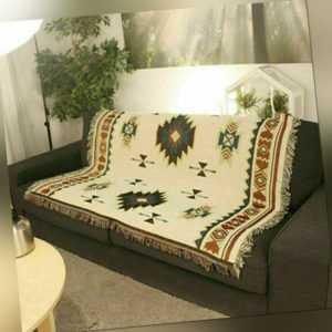 Home Decor Aztec Navajo Handtuch Matte Baumwolle Sofa Decke