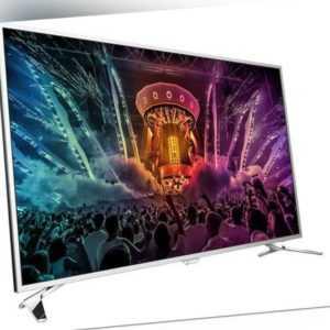 "Philips 55PUS6501/12 139cm 55""Android 4K UHD Fernseher 2 Seiten Ambilight #T3789"