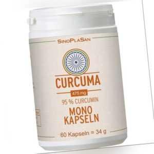 CURCUMA 475 mg 95% Curcumin Mono-Kapseln   60 st   PZN13598134