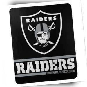 Las Vegas Raiders Fleece Decke Split Wide