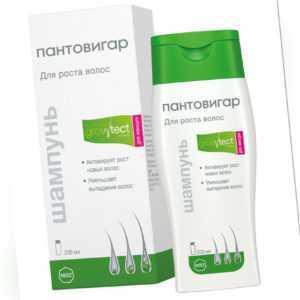 Shampoo Für Haarwachstum Pantovigar Wachstum Formel für Damen 200 ML