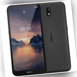 Nokia 1.3 Dual-SIM Smartphone mit 16GB Speicher, Android 10,...