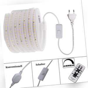 Dimmbar Led-Streifen Lichterkette Lichtband Lichtschlauch Strip Leiste 220V 230V