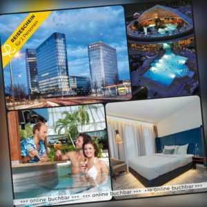 Kurzreise München 3 Tage 2 Personen 4*S Hyperion Hotel Therme Erding Städtereise