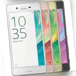 Sony Xperia X F5121 32GB Android Smartphone Handy ohne Vertrag 4G...