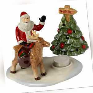 VILLEROY & BOCH Christmas Toys Teelichthalter Weihnachtsdekoration 17,5X13,5X14