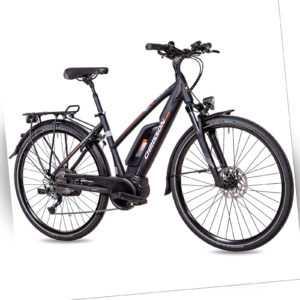 28 Zoll E-Bike Citybike Damen CHRISSON E-ROUNDER 9G Shimano BOSCH Active-Line