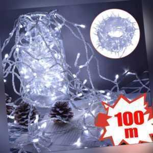 100-1000 LED Lichterkette Schlauch Weihnachtsbaum Deko Innen/Außen Xmas Party DE