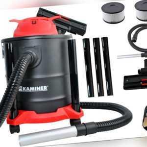 Aschesauger 20L 1600W 3in1 HEPA Filter Staubsauger Edelstahl Grill Kamin 8790