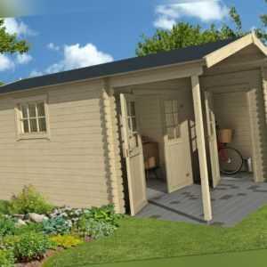 28mm Gartenhaus 420x550 cm per ABHOLUNG