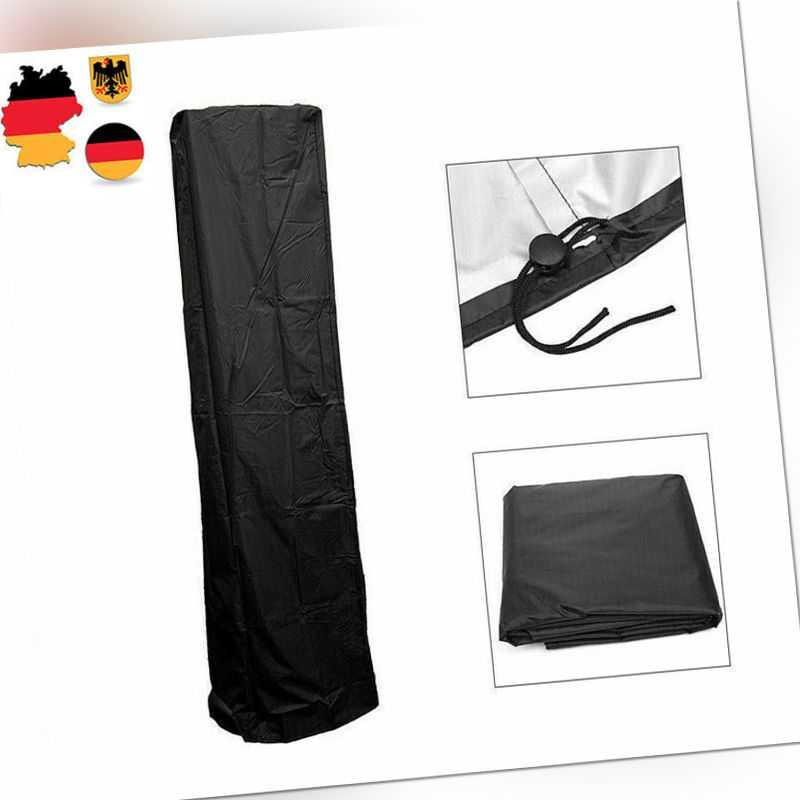 Abdeckhaube Schutzhülle Abdeckung Haube für Heizstrahler Heizpilz 221*53*61cm
